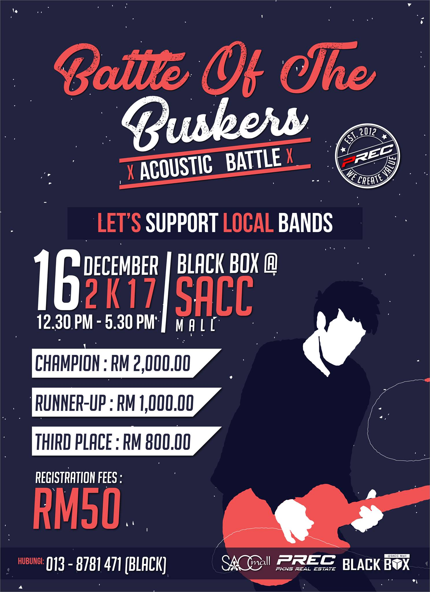 """BATTLE OF THE BUSKERS"" 2017 di BLACKBOX @ SACC Mall"