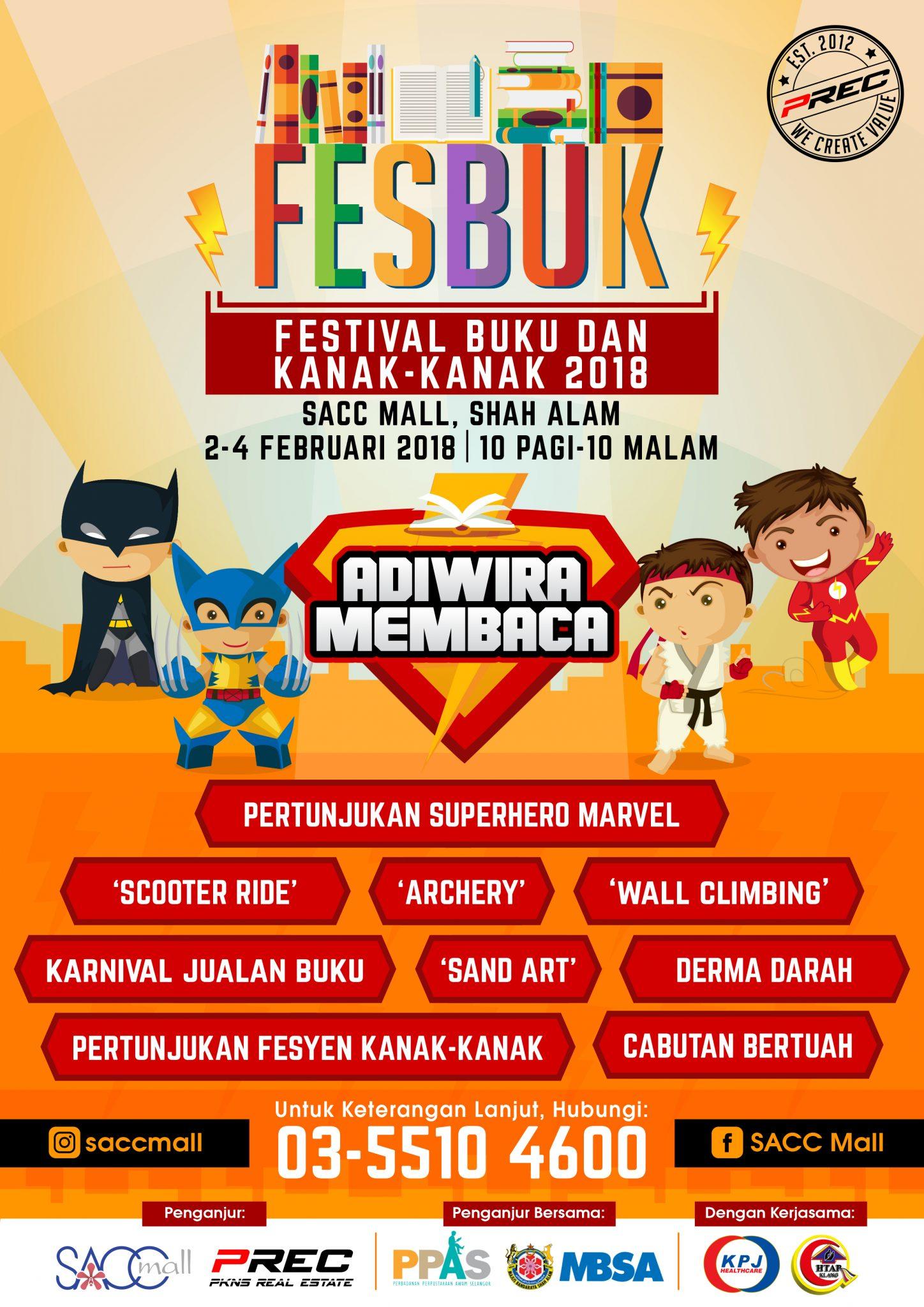 Festival Buku & Kanak-Kanak 2018 (FESBUK'18)