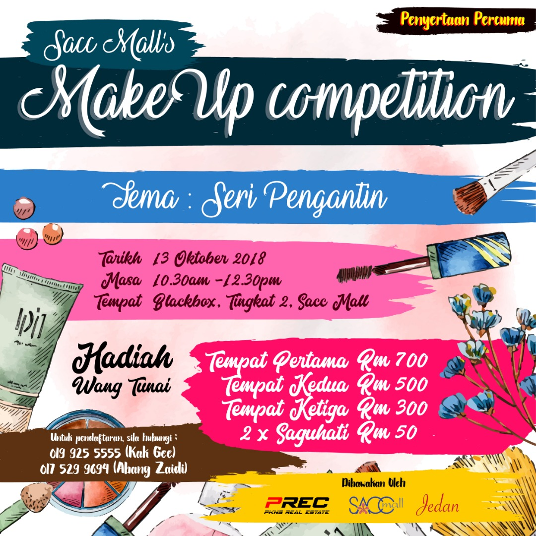 SACC Mall Makeup Competition