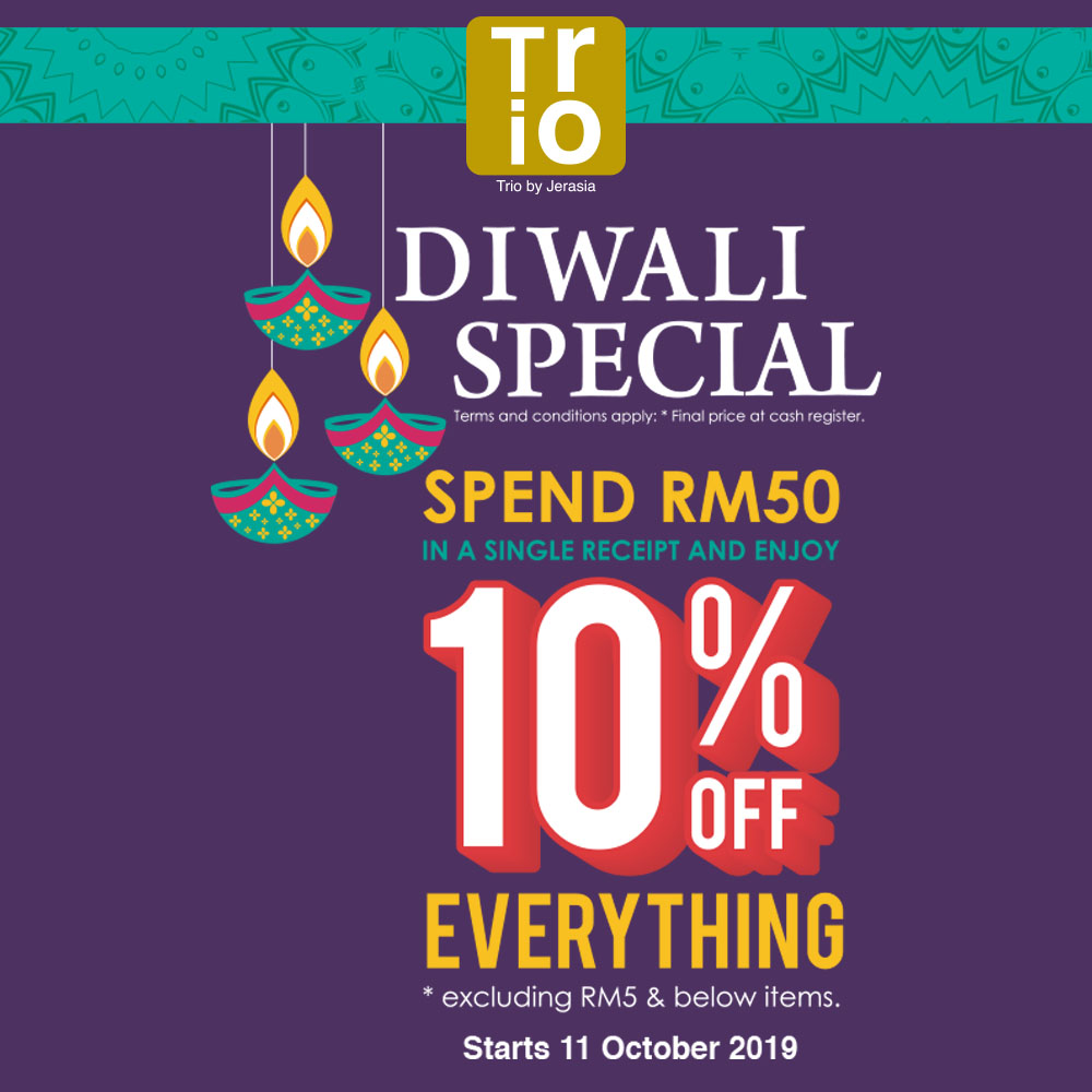 Trio Collection : Diwali Special