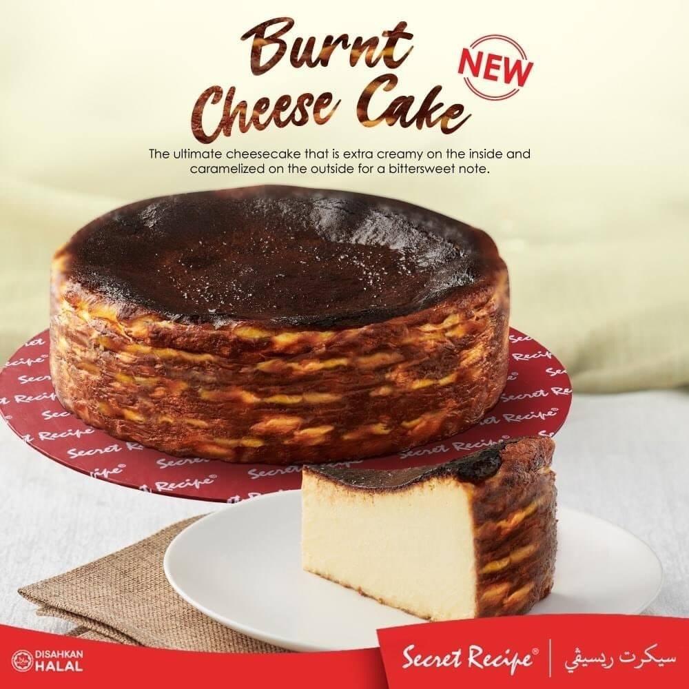 Burnt Cheese Cake Secret Recipe menggoda!